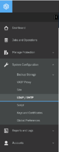 SPP LDAP Menu